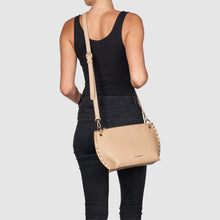 Eternal  Vegan Leather Crossbody Bag - Tan
