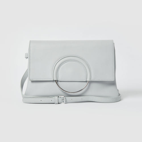 Euphoria Cruelty-Free Vegan Clutch - Pale Blue