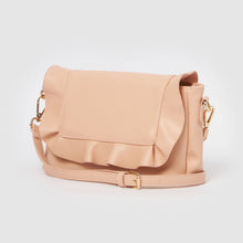 Frill Vegan Clutch by Urban Originals - Blush