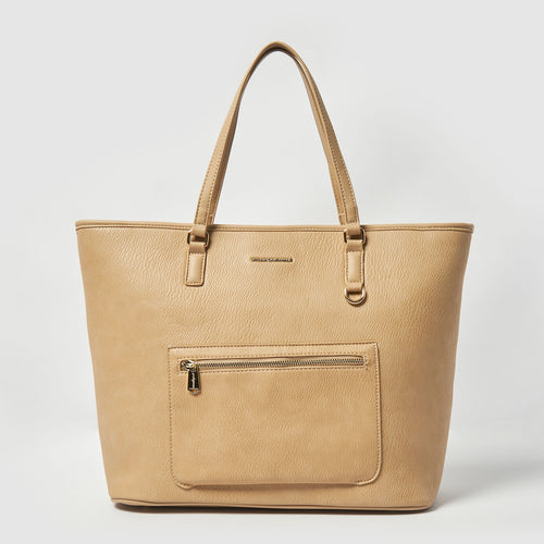 High Flyer Vegan Tote by Urban Originals - Sand