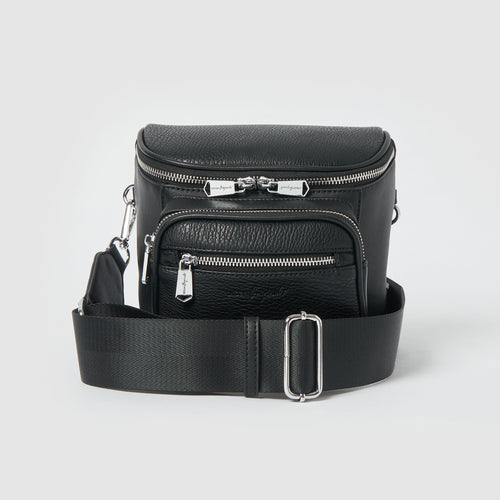 High Impact Vegan Crossbody bag by Urban Originals - Black