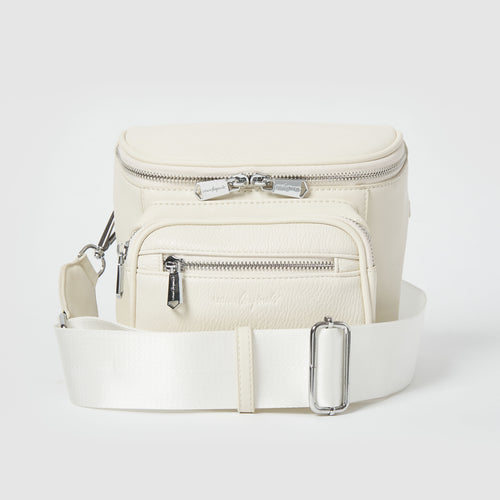 High Impact Vegan Crossbody bag by Urban Originals - Oat