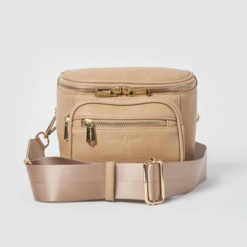 High Impact Vegan Crossbody bag by Urban Originals - Sand