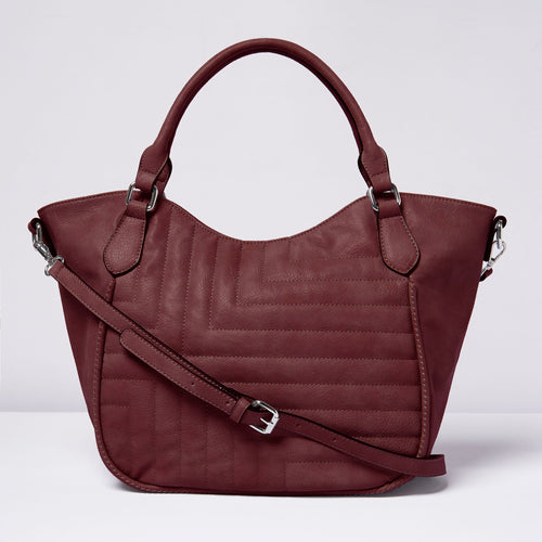 Iconic Tote - Plum - Urban Originals USA