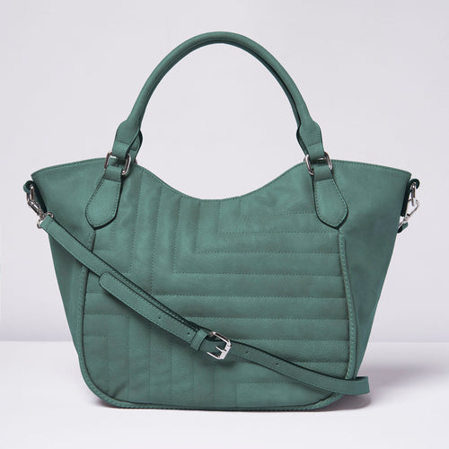 Iconic Tote - Blue Teal - Urban Originals USA