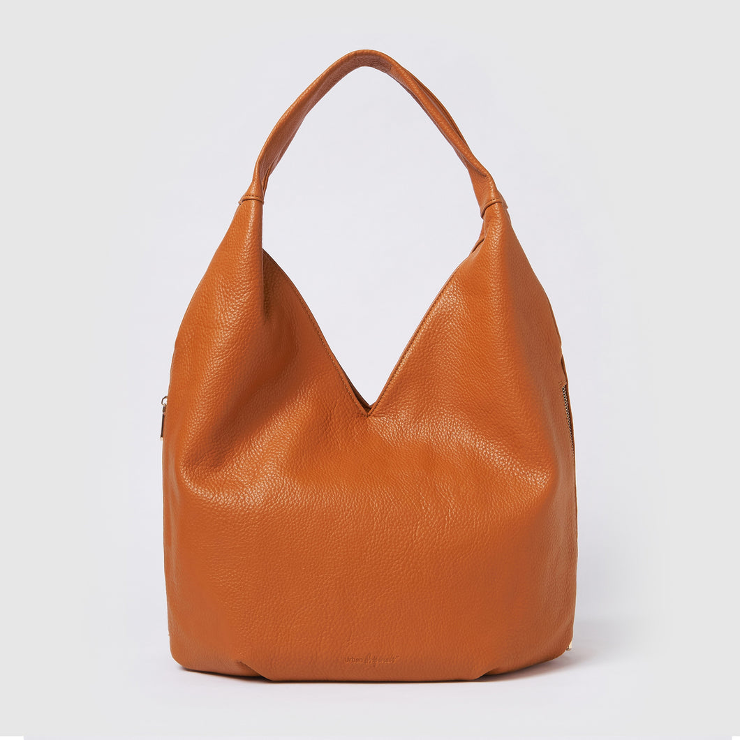 Love Success Hobo Bag - Tan Textured