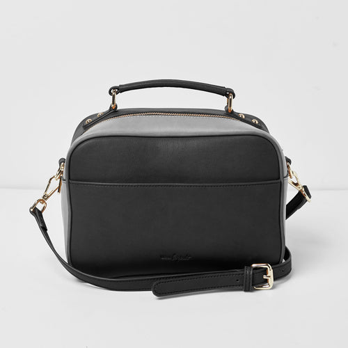 Love Bird Satchel - Black - Urban Originals USA