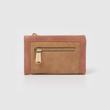 Luminescence Wallet - Taupe/Pink