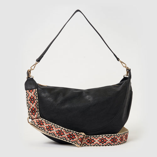 Luna Crossbody - Black