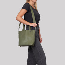 Mini New Dawn Tote - Green