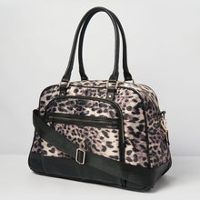 Moon Nylon Overnight Bag - Leopard