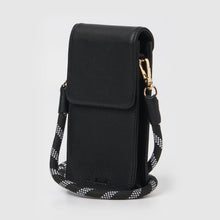 Nova Crossbody Wallet - Black