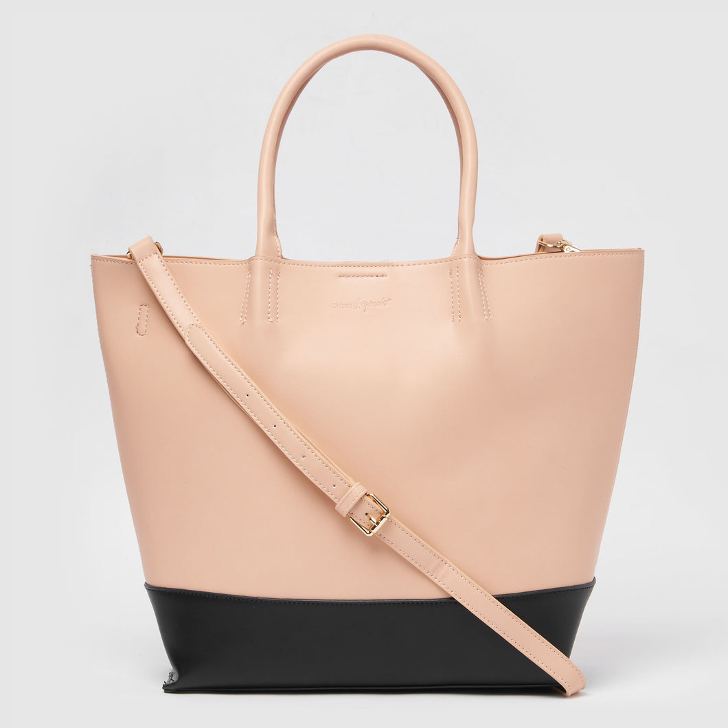 Revenge Vegan Tote by Urban Originals - Pink/Black
