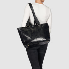 Sunrise Vegan Leather Tote by Urban Originals - Black