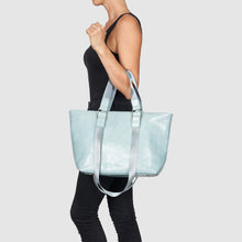 Sunrise Vegan Leather Tote by Urban Originals - Blue
