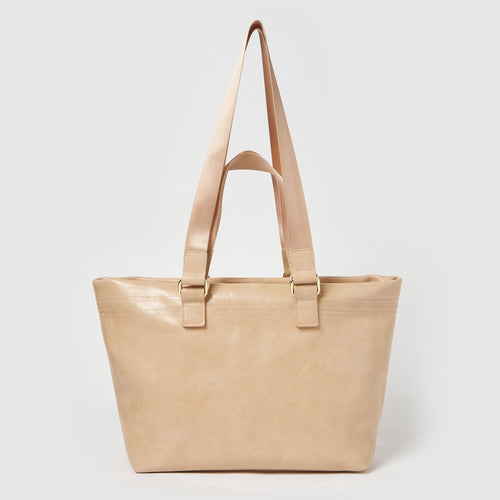 Sunrise Vegan Leather Tote by Urban Originals - Pink