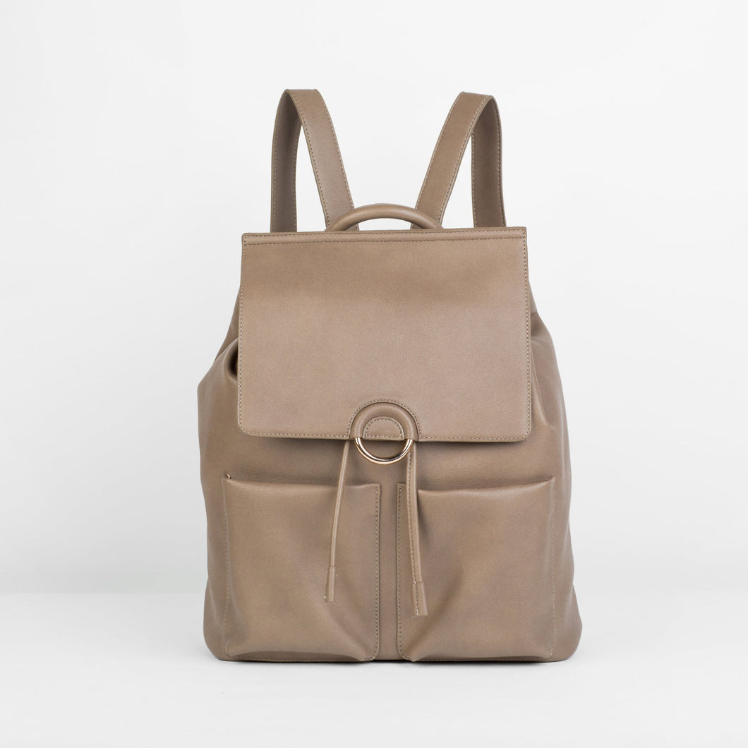 The Thrill Backpack - Taupe