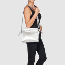 Wild Child Vegan Crossbody Bag by Urban Originals - Silver