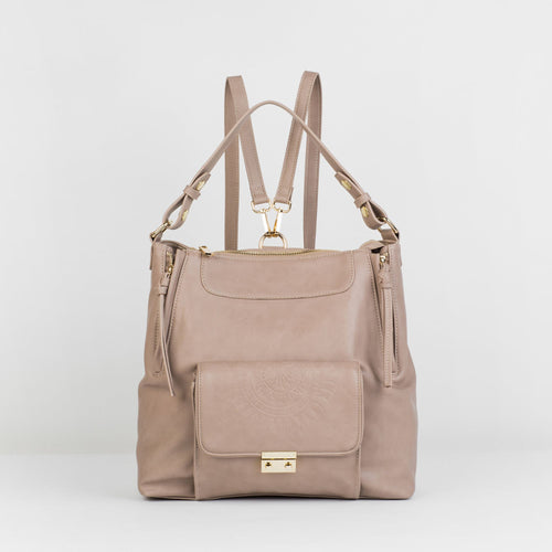 Wild Flower Backpack - Taupe - Urban Originals USA