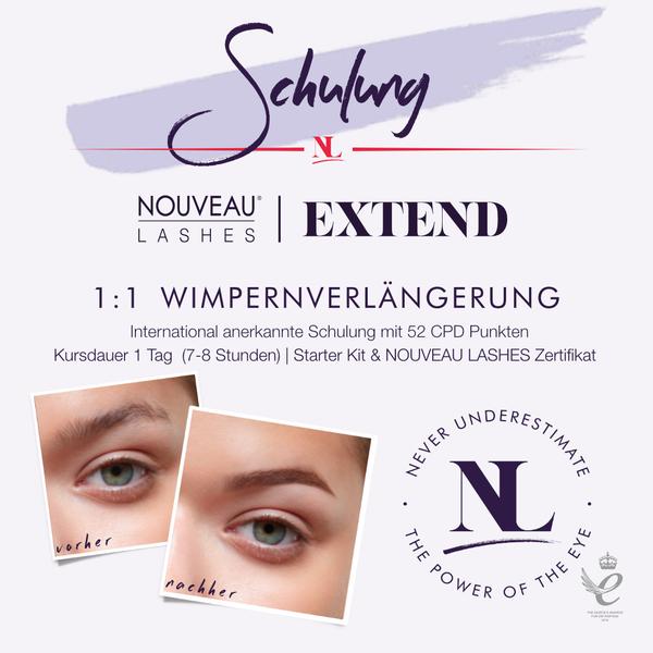 EXTEND - Lash Extensions Schulung