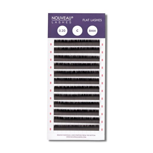 Flat Lashes one size Box