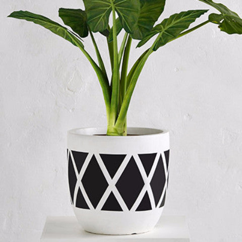 Diamond Planter Pot