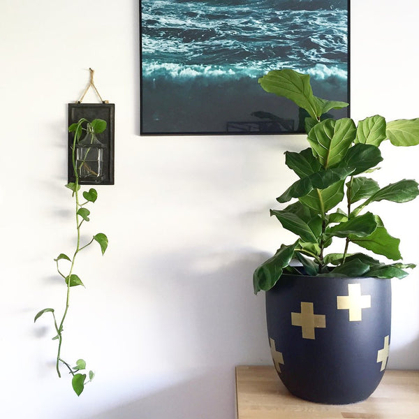 Cross Planter Pot