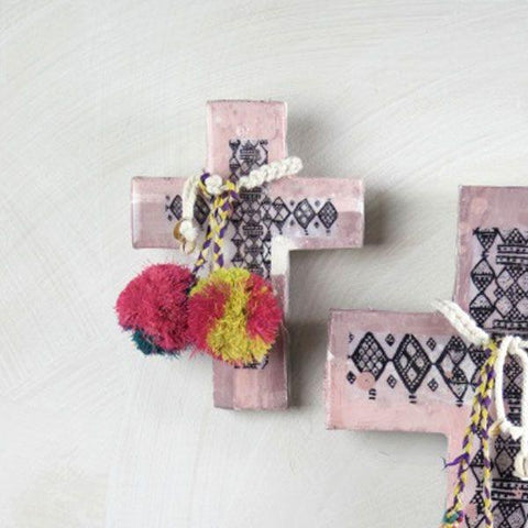 Ahoy Trader Adah Blush  Design Mini Cross