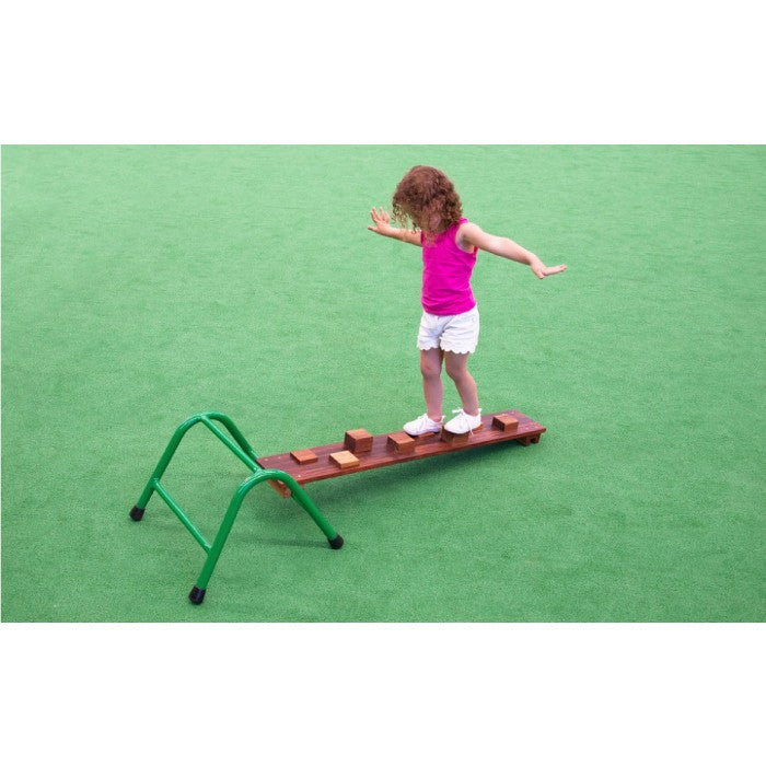 Moveable playground equipment merbau hardwood timber walk board