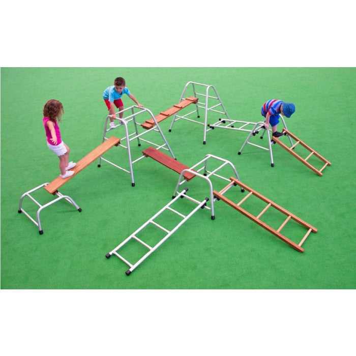 Natural Look Aluminium Playset