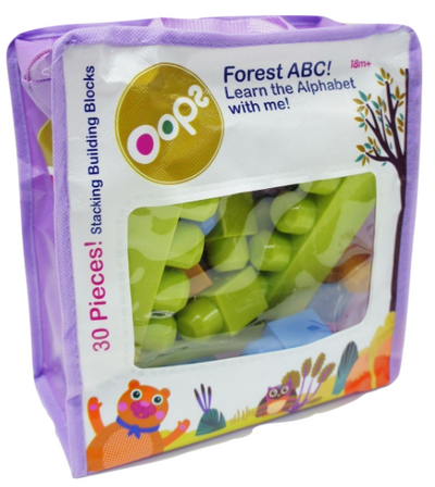 OOPS - 30 Piece Stacking Building Blocks