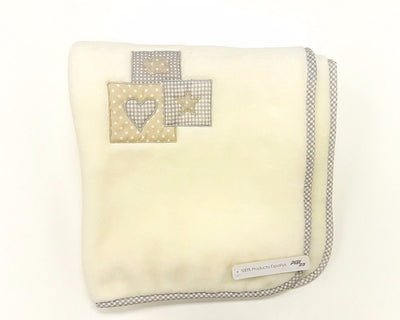 PIELSA- Embroidered Small Blankets 80 x 110cm