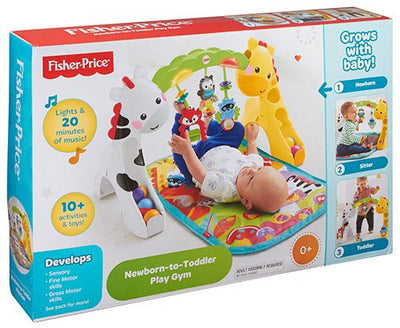 FISHER PRICE - Newborn to Toddler Play Gym