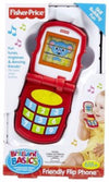 FISHER PRICE- Brillant Basics Friendly Flip Phone