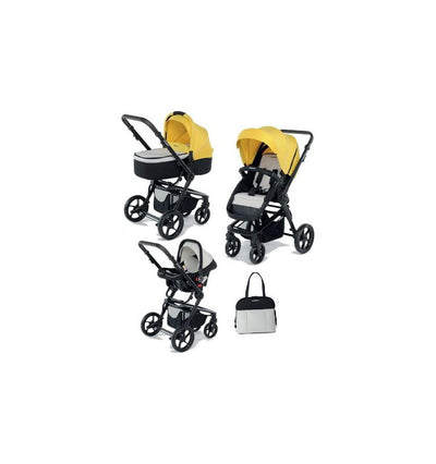 FOPPAPEDRETTI - 3Chic Travel System With Black Frame