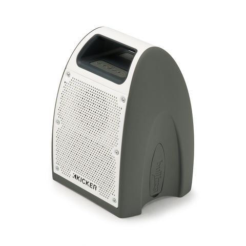 BF200 Bullfrog Bluetooth Music System - Grey/White