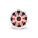 "KM Marine 6.5"" (165 mm) Coaxial Speaker System with LED Grills"