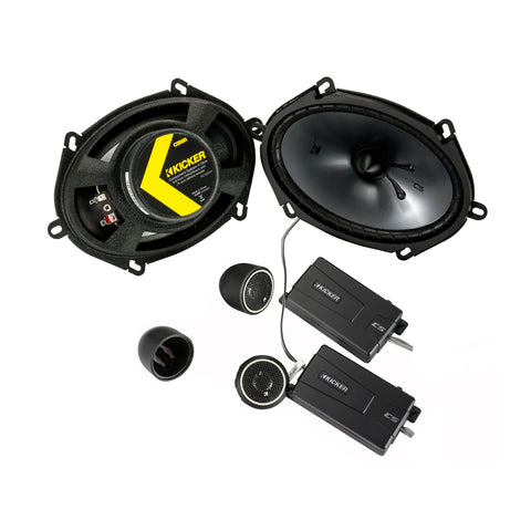 "CS 6"" x 8"" (160 x 200 mm) Component Speaker System"