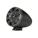 "KMFC Marine 8"" Flat Mount Coaxial Tower System - Black"