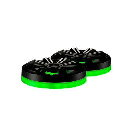 Weather Proof LED Speaker Ring, Pair - 6.5""