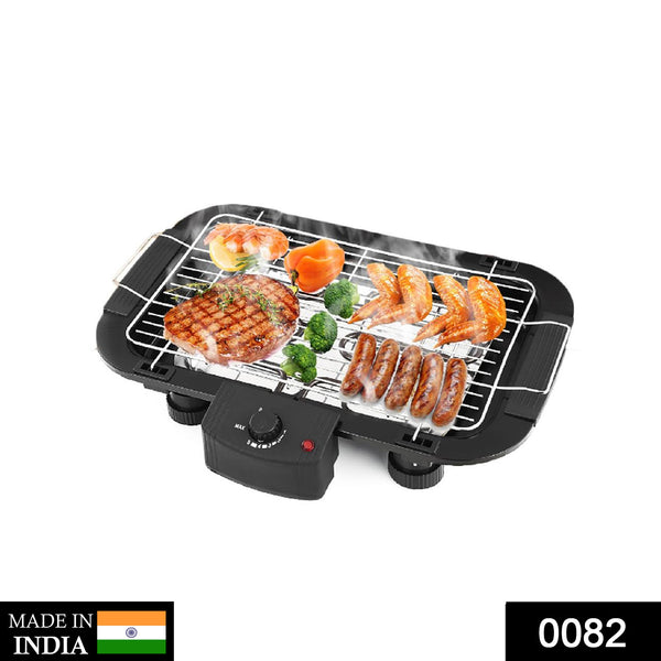 0082 Smokeless Electric Indoor Barbecue Grill, 2000w - DeoDap