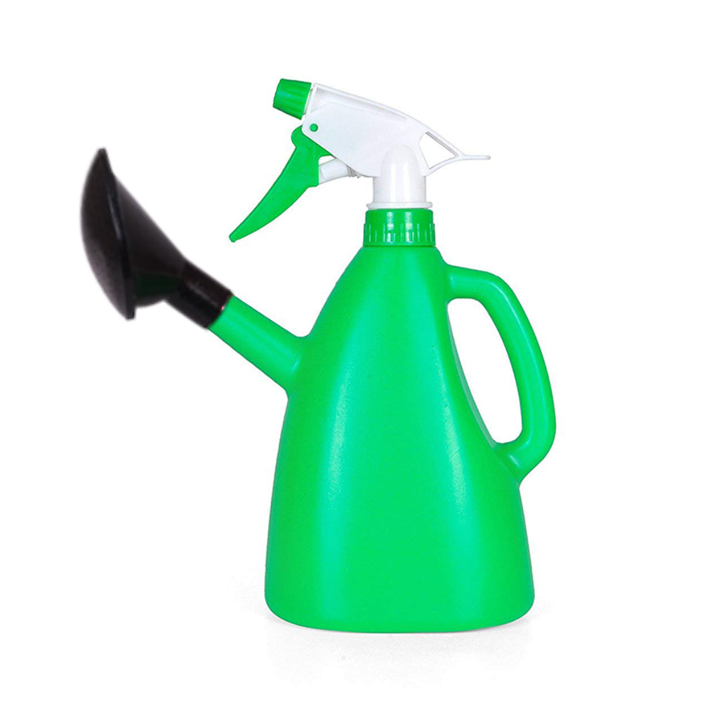 1077 2 in 1 Watering Can with Hand Triggered Sprayer for Plants - DeoDap