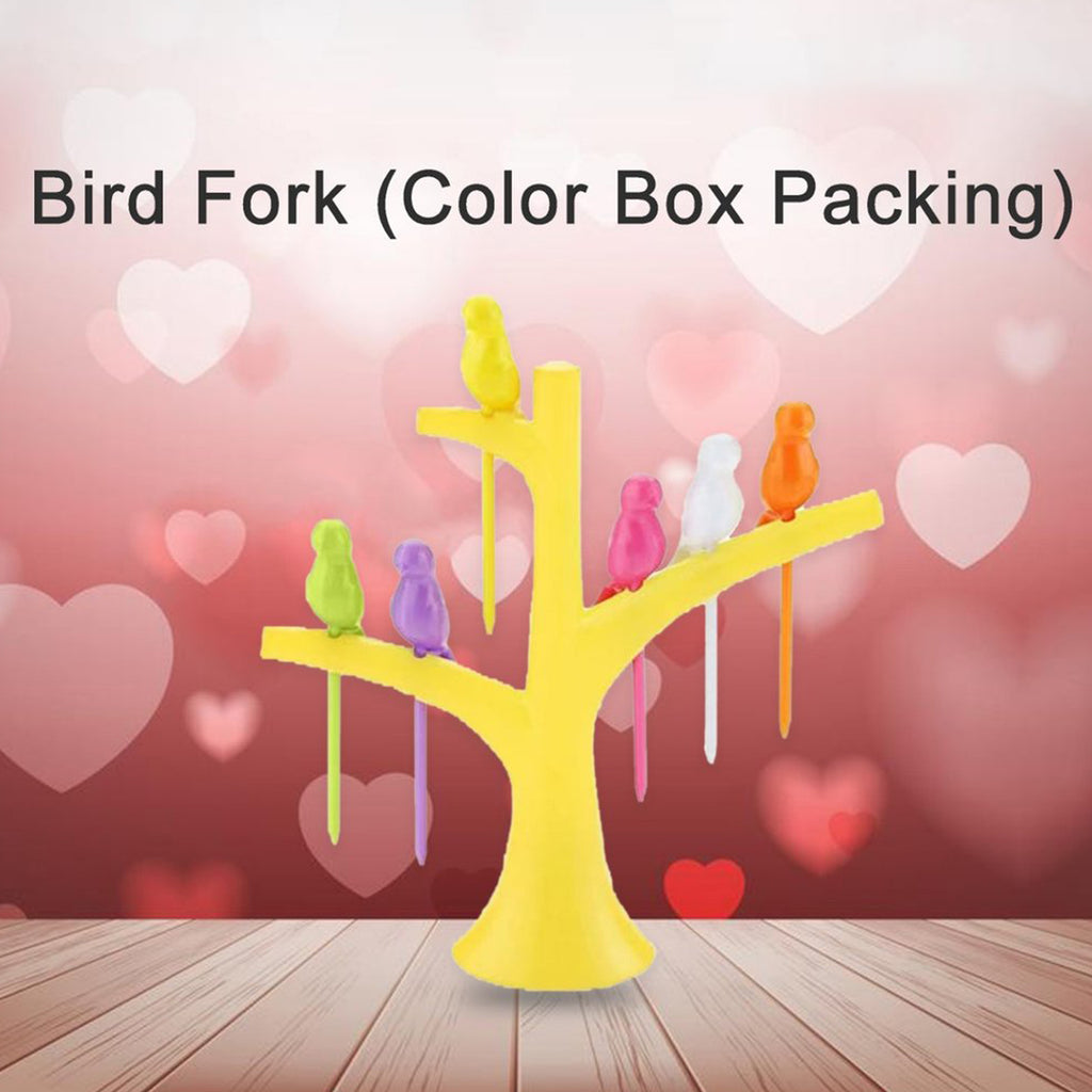 0056 Bird Fork (Color Box Packing) - DeoDap