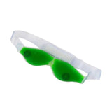0403 Cold Eye Mask with Stick-on Straps (Green) - DeoDap