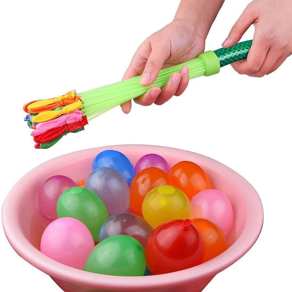 1359 Holi Magic Water Balloons for Kids - 111 pcs (Multicolor) - DeoDap