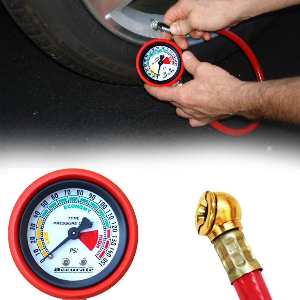 0512 Heavy Duty Tire Inflator Gauge Air Compressor Accessories