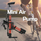 0544 Aluminum Mini Bicycle Air Pump (Multicolor)