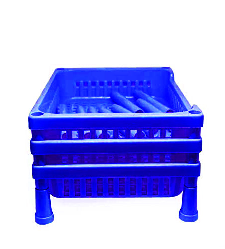 0803 Multipurpose Plastic Storage Rack Oraganiser - 3 pcs