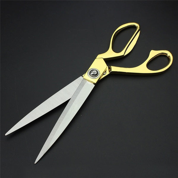 0560 Gold Plated Professional Cloth Cutting Scissor