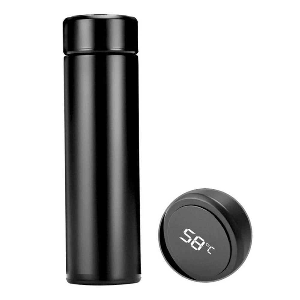 0726 Smart Vacuum Insulated Water Bottle with LED Temperature Display - DeoDap